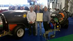Marisan Duplex Tornado premio novedad técnica en AGRILEVANTE – Bari de Italia